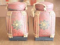 "(2) pier1 imports tea box 13"" tall 8"" wide 8"" deep Call"