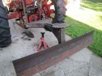 Old sytle 2 point hitch from a 300 Farmall row crop.