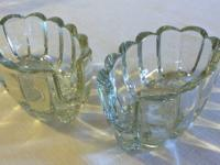 Set of 2 Vintage Princess House Lead Crystal Spoon or