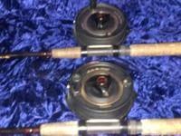 I have 2 brand new condition Professional Shimano rod &