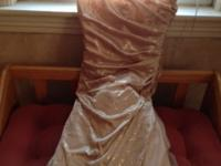 First is beige/tan with sparkles size 5/6 40 .00 worn