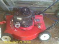 20'deck 3.5 hp, briggs and stratton motor, $30 20'deck