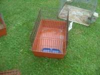 This is a nice cage for transporting or for inside