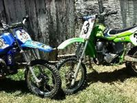 1989 Raced Out Kawasaki (Green) 60CC. Manual with