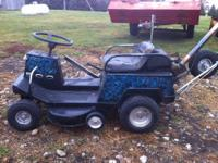 2 Raceing lawnmowers Red mower is built for track