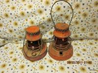 2 Vintage Rail Road /Laclede Gas Lanterns Have been