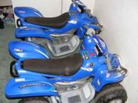 I have two Yamaha Raptore kids four wheelers with