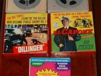 2 rare to find 8mm movies. Al Capone &Dillinger. Both