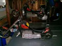 I have two Razor Chopper Electric Motorcycles for sale.