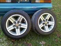 "Have 2 rear 8"" iroc wheels and tires. $250.00 OBO The"