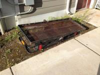 2 Steele receiver hitch carriers $50 each obo. Call or
