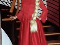 Two wonderful red dresses for sale. These were rarely