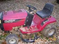 Murray riding mower 17.5 Hp w/ 42 inch cut runs but has
