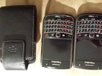I have two blackberry vibrant 9650 Verizon will
