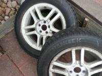 Hankook studded tires good tread left no dry rot or