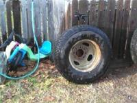 TIRE IMAGE 1: Firestone Tire with RIM: 90 % WEAR. TIRE