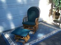 I have 2 Rocking Chairs for sale. The 1st one has green