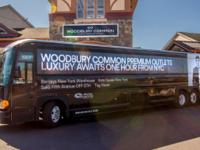 Round-trip bus transportation to Woodbury Common