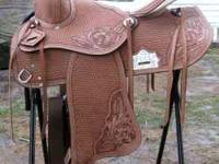 "I got two saddles about 15-16"" one comes with a breast"