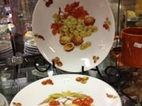These salad plates are in excellent condition.    With