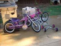 For sale 2 Schwinn 16 in Stingray bikes with the