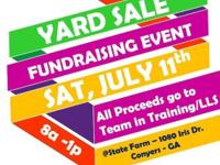 Large Yard Sale in Conyers, Ga - July 11th. 8a-1p All