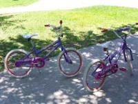 "TWO GIRLS 20"" SEASTAR HUFFY BICYCLES GREAT CONDITION"