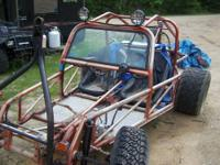2 seater Berrien Buggy Frame with 1600cc Dual carb vw.
