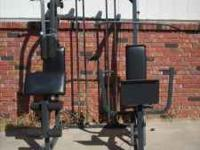 We have a 2 seater cable weight system FOR SALE!!
