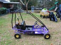 2-seater go kart in good condition. 5 HP Subaru motor