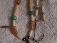 Great gift as both are hand made/strung. Both necklaces