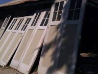 2 sets of unique antique carriage House doors From the