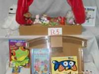 One play finger puppet stage which includes 22 finger