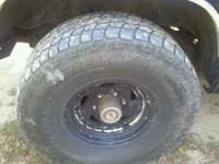i have two sets of rims and tires im selling. one set