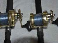 BOTH RODS AND REELS IN EXCELLENT SHAPE(ONE ROD