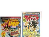 For sale are 2 Shonen Jump Manga Magazings dates Jan