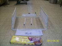 Double sided rail adds extra protection. compact