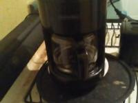 Black and Decker 2 slice toaster and Mr. Coffee coffee