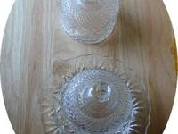 I have for sale 2 small vintage 1970's glass Avon
