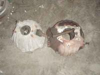 For sale are 2 Small Block Chevy Bell Housings. Decent