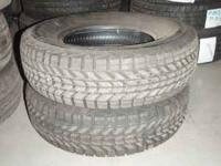 For sale is a set of 2 Snow Tires 205/75/14. They are