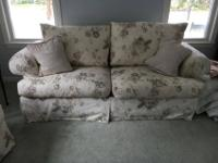 Selling 2 sofas in excellent condition. Smaller couch
