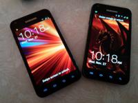 I have two galaxy s2's in great condition with clean