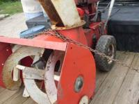 i have a large 2 stage snow blower freshly tested and