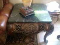 VERY NICE COFFEE TABLE WITH 2 STAND FOR $395 OR BEST