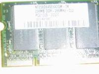 2 sticks 512 ddr 2700 laptop memory 10 each jc