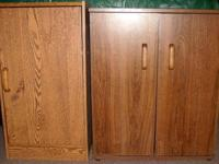 (2) STORAGE CABINETS FOR SALE - GREAT CONDITION -