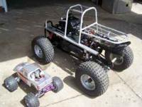 The picture shows the converted quad next to a Savage