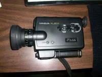 I have two Minolta super 8s, one is a XL601 and the