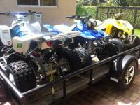 2006 Suzuki LTZ400 fully loaded too many extras to